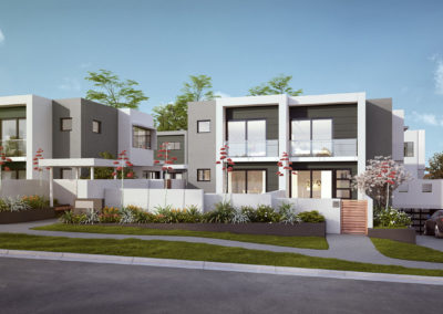 Engadine – Zinc Townhouses